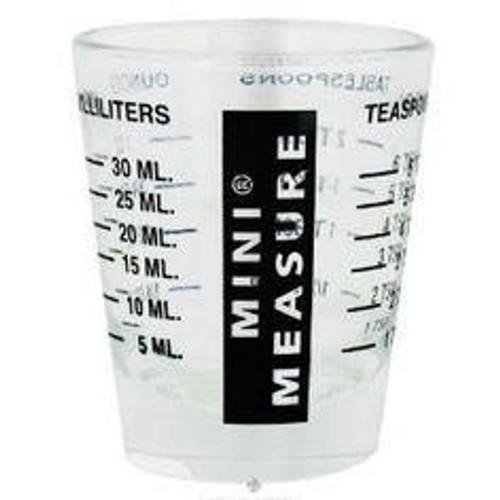 Kitchen Basics - Mini Measure Shot Glass - KBG005