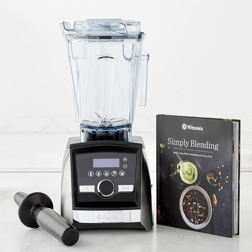 Vitamix - Ascent Series A3500 Stainless Blender W/ 5 Presets & Timer - 062436