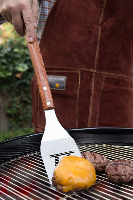 Outset - Rosewood and S/S Spatula with Serrated Edge