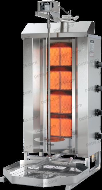 Potis - Gyro Machine, 4 Burner, Natural Gas - NAGD4