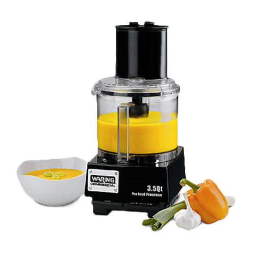 Waring - 3.5-Qt. Batch Bowl Food Processor with LiquiLock® Seal System -WFP14S