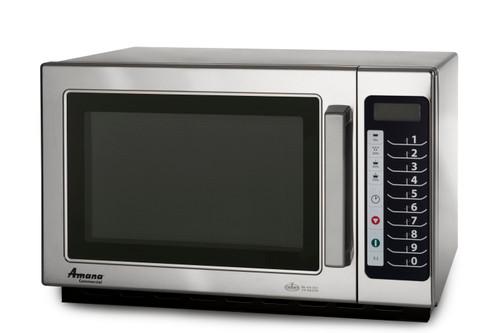 Amana - Medium Volume Microwave Oven, 1.2 Cubic Feet, 1000W - RCS10TS