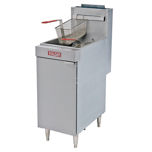 Vulcan - Economy Deep Fryer, 35-40lb Capacity - LG300