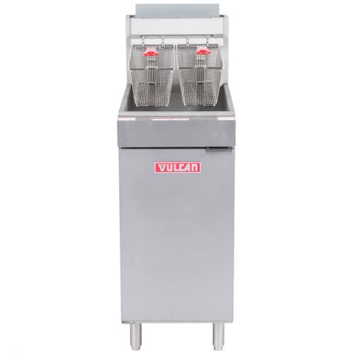 Vulcan - Economy Deep Fryer, 45-50lb Capacity - LG400