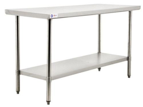 """Omcan - 30"""" x 36"""" Stainless Steel Economy Work Table, 900lb Load Capacity - 22072"""