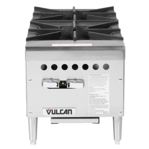 """Vulcan - 12"""" Two Burner Gas Hot Plate, 50,000 BTU - VCRH12"""