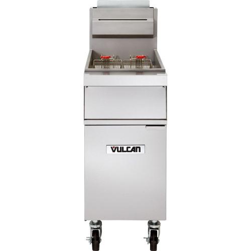 Vulcan - Freestanding Kitchen Fryer, 65-70lb Capacity - IGR65M