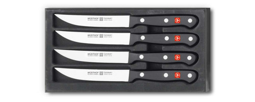 Wusthof - 4 Piece Gourmet Steak Knife Set - 9729