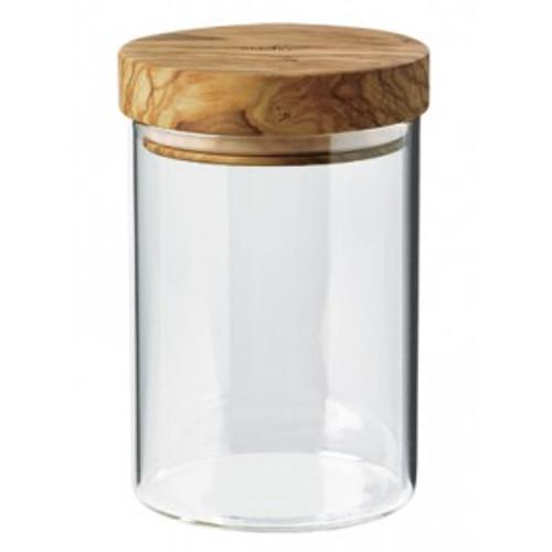 Bérard France - .6L (20oz) Borosilicate Glass Jar w/ Olivewood Lid - 7435101