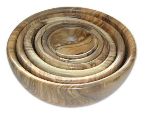 Bérard France - Set of 6 Olivewood Bowls - 7489670