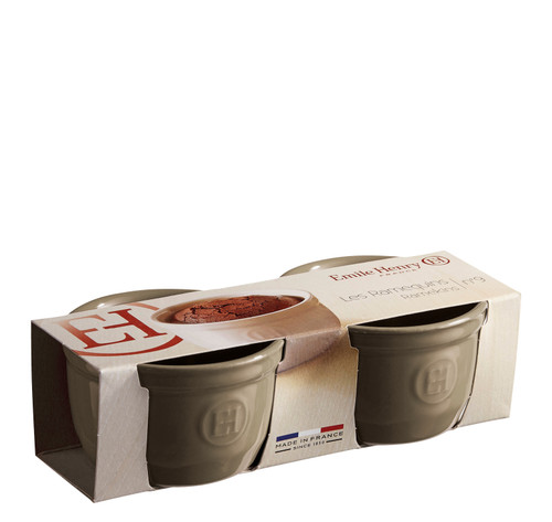 Emile Henry - Silex 0.25L (8.5oz) No. 10 Ramekin, Set of 2 - 91954010