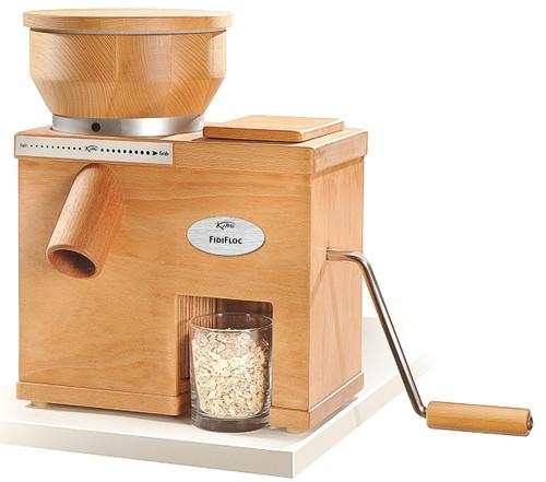 KoMo Mills - FidiFloc 21 Electric Grain Mill w/ Manual Flaker - 2002.01