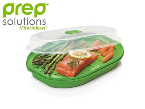 Progressive - Prep Solutions Microwave Fish and Veggie Steamer - GMMC450