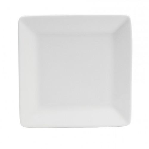 """Oneida - Bright White 12"""" Square Plate - F801000163S"""