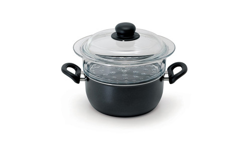 """Ballarini - 8"""" Specialty Steam Cooker with Lid"""
