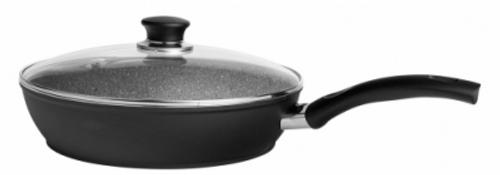 """Ballarini - 11"""" Bologna Nonstick Saute Pan with Glass Lid"""