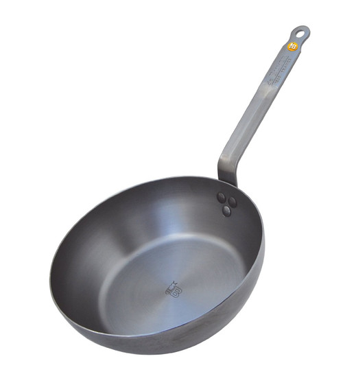 """de Buyer - Mineral B Element 11"""" (28cm) Iron Country Fry Pan - 77561428"""