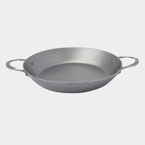 "de Buyer - Mineral B Element 12.5"" (32cm) Iron Paella Pan - 77565232"