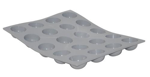 de Buyer - Elastomoule Silicone Mini Hemispherical Mould, 20 Portion - 77185021
