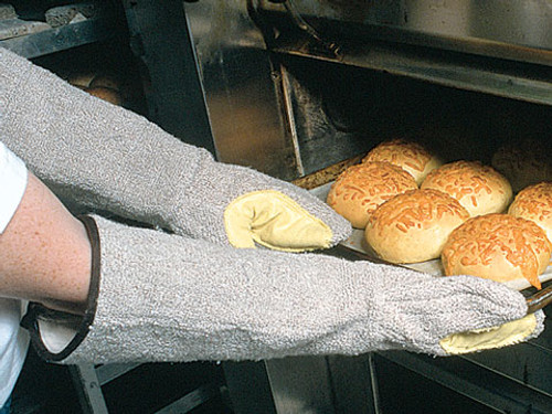 """Oven Mitts - 17"""" Kevlar Reinforced with Oil-Block (Per 2) - TBMOB"""