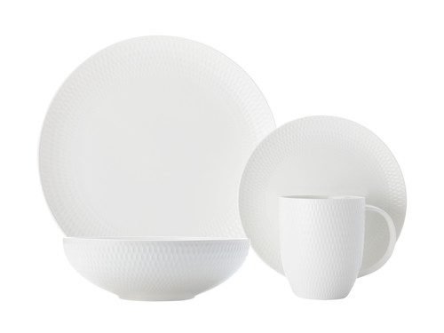 Maxwell & Williams - Diamonds Round 16 Piece Dinnerware Set - DV0032