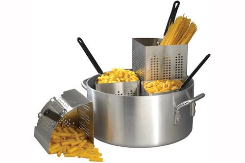 Winco - Four Insert Aluminium Pasta Cooker - APS20