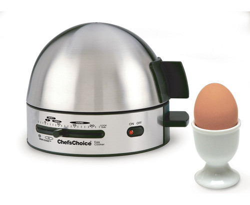 Chef's Choice - Gourmet Brushed Stainless Steel Egg Cooker - 810