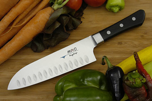 "MAC - 6.5"" Professional Hollow Edge Santoku Knife - MSK-65"