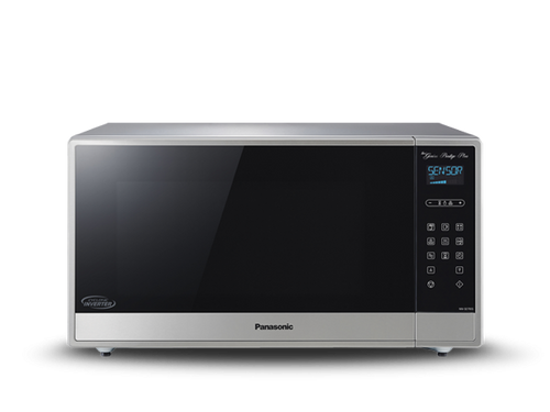 Panasonic - Family Size Genius Prestige Plus Cyclonic Inverter Microwave Oven - NNSE795S