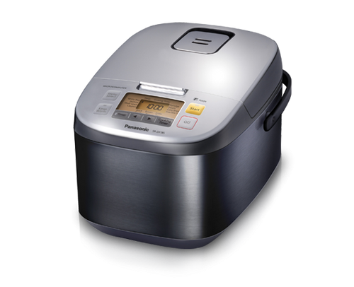 Panasonic - 1.8L (10 Cup) Electric Rice Cooker with Diamond Coating - SRZX185