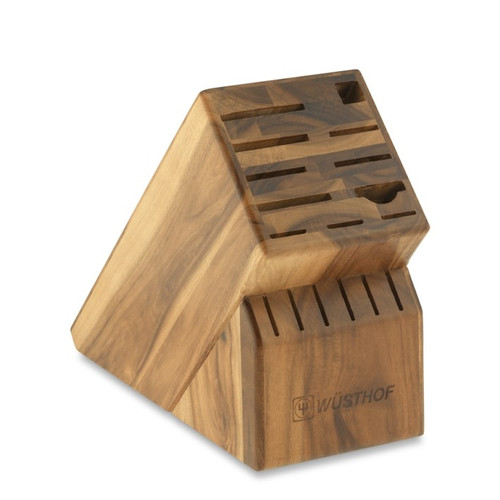 Wusthof - 17 Slot Acacia Wood Knife Block - 726717
