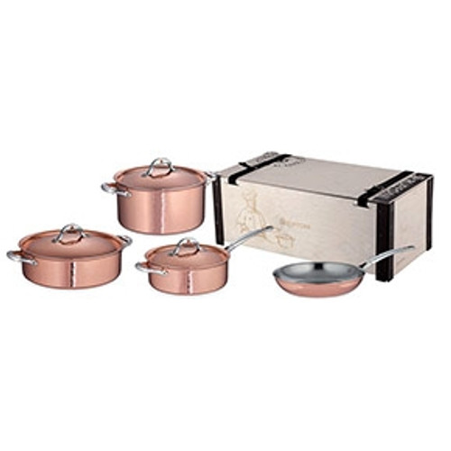 Ruffoni - Symphonia Cupra 7 Pc Cookware Set - 99215