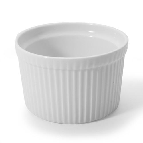 BIA - 16 Oz White Souffle Dish - 900021PC