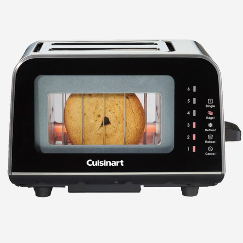 Cuisinart - ViewPro 2-Slice Glass Toaster - CPT-3000C