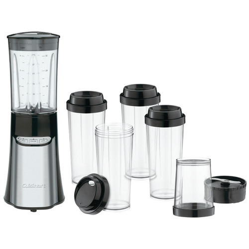 Cuisinart - 15pc 350-Watt Compact Blender Brushed S/S - CPB300C