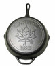 "Lodge - 12"" Pre-Seasoned Canadiana Maple Leaf Limited Edition Cast Iron Skillet"