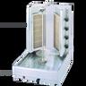 Visvardis - 130 - 145 Lbs Capacity Turbo Gyro & Shawarma Machine 72,000 BTU    - DG12V