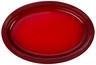 """Le Creuset - 18"""" (46 cm) Cherry Oval Serving Platter"""