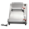 """Omcan - Pizza Moulder With 16"""" Max Roller Width And 0.5 Hp Motor - 39638"""