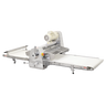 """Omcan - Stainless Steel Table Top Dough Sheeter With 108"""" Conveyor Length And 0.5 Hp - 42154"""
