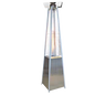 Omcan - Outdoor Pyramid-Style Patio Heater With Stainless Steel Body - 31879 - Out of stock until 2022