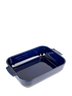 Peugeot - Appolia Blue 3 QT Rectangular Ceramic Baker - 60077