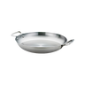 """Thermalloy -16"""" Stainless Steel Paella Pan  - 5724174"""