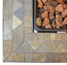 Endless Summer - LP Outdoor Fire Pit With Slate Tile Mantel