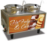 Benchmark - Hot Fudge / Caramel Warmer - 2 Ladles & Lids 120v