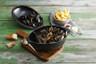 Staub - 2 L (2.1 QT) Black Mussel Pot