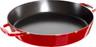 "Staub - 13"" (34cm) Cherry Red Paella Pan"