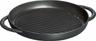 "Staub - 10"" / 26cm Black Pure Grill - 40509-377"