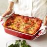 "Emile Henry - Modern Classic Rouge Rectangular Baking Dish 28.5x24cm/11x8"" (3L/3qt) - 91369620"