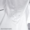 Premium - Small White Chef Coat with Black Trim - 5325S
